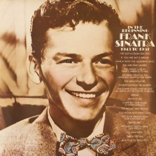Frank Sinatra ‎- In The Beginning: 1943 To 1951 (LP) (VG+/VG)